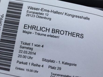 Ehrlich Brothers: Magie - Träume erleben