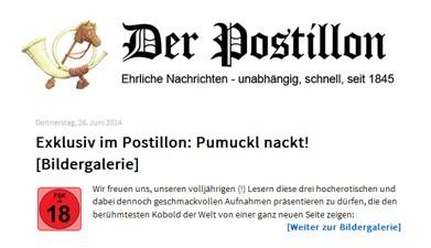 Pumuckl nackt! (Exklusiv im Postillon)
